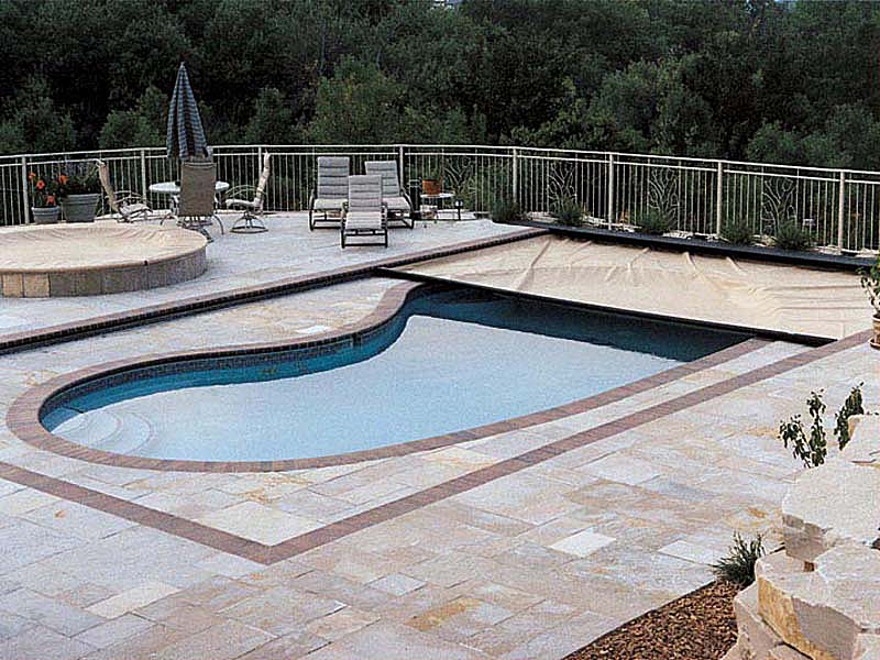 Pool safety covers the ultimate in pool care for Garden pool covers