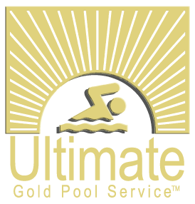 Ultimate Gold Pool Service Logo