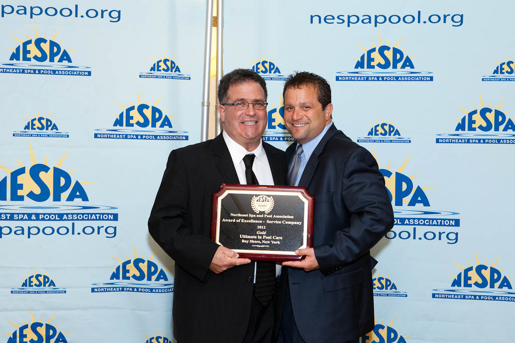 NESPA Awards the Ultimate in Pool Care Gold for Customer Service in 2012