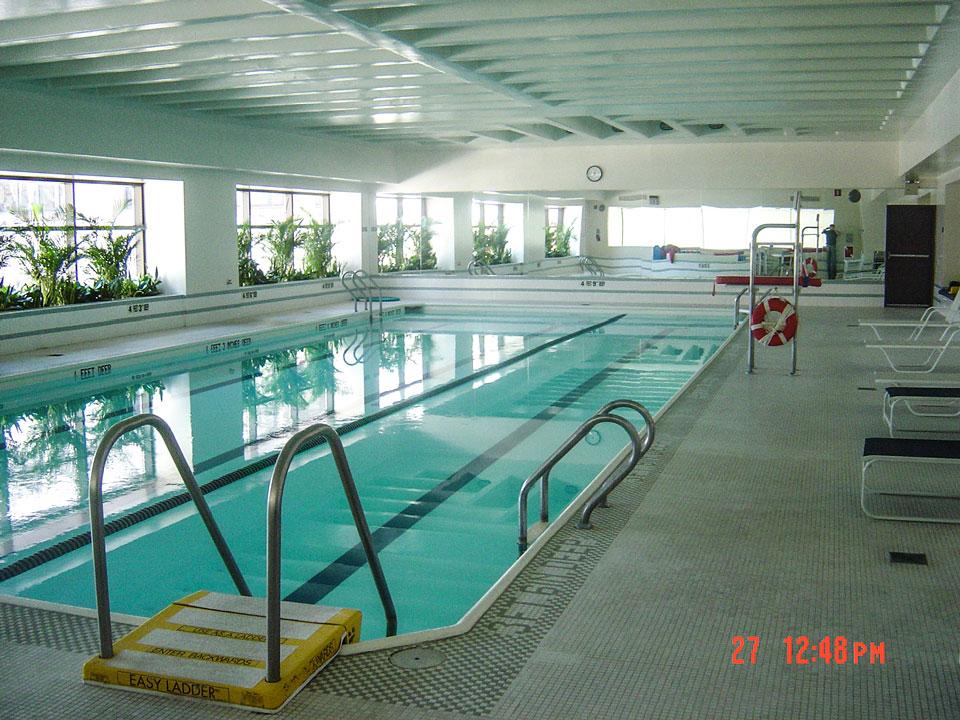 Chaikin Ultimate Pools 3 Lincoln Center Condominium Lap