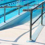 ADA Compliant Pool Entry Ramp