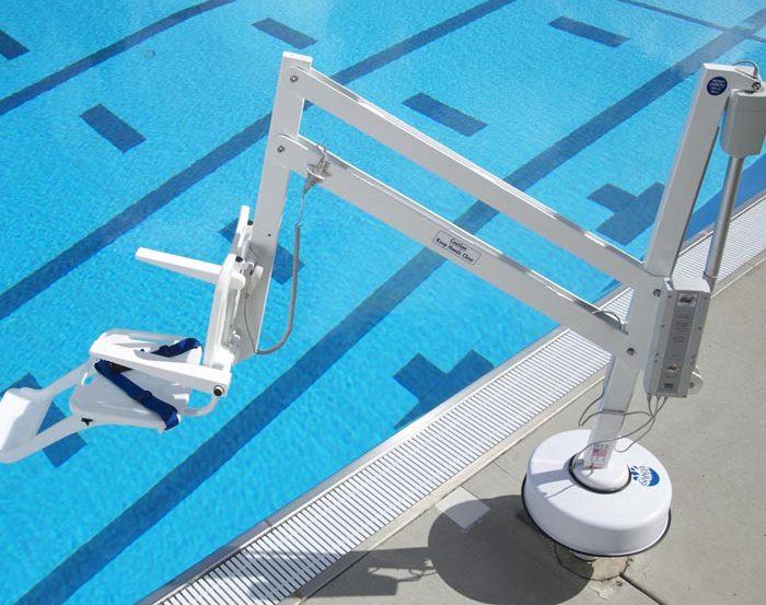 ADA Compliant Swimming Pool Lift