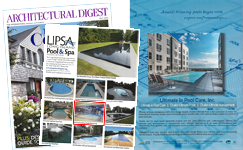 Chaikin Ultimate Pools, Pool Construction -- As Seen in the July 2015 Edition of Architectural Digest Magazine