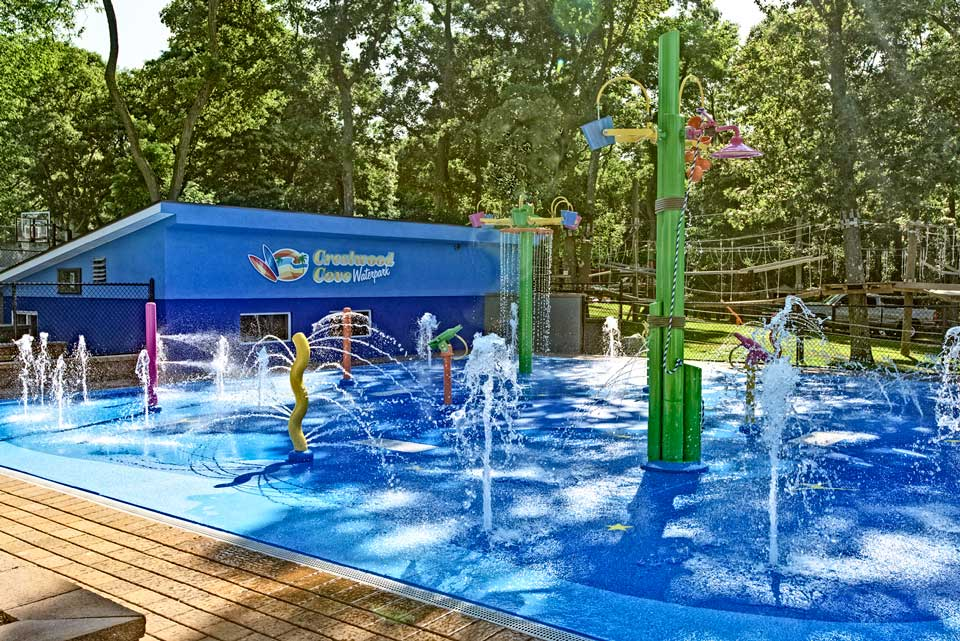 The Crestwood Day Camp Waterpark Splash Pad Project The