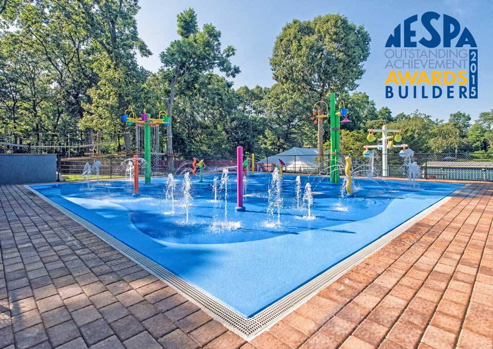 NESPA Outstanding Achievement Builders Award - Crestwood Day Camp Splash Pad