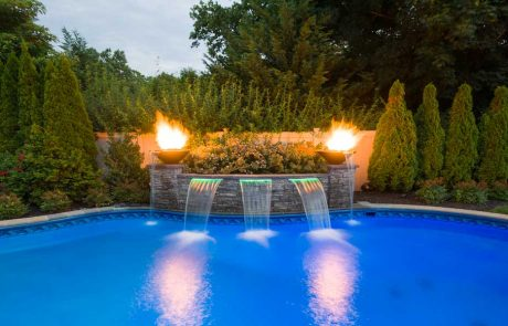 LIPSA Gold Award - Water Feature With Pool