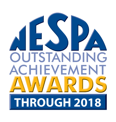 NESPA 2018 Outstanding Service Award Logo