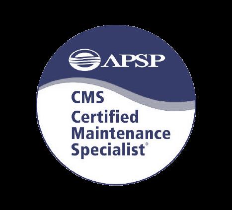 APSP CMS Certified Maintenance Specialist