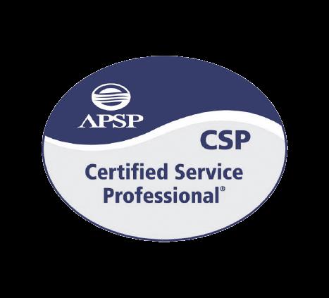 APSP CSP Certified Service Professional