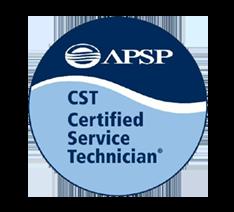 APSP CST Certified Service Technician