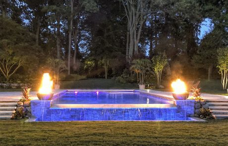 LIPSA Best of Show Gold Award 2018 – Residential Pool & Spa Combo Gunite