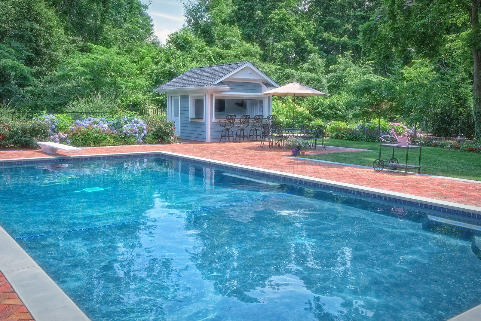Residential Swimming Pool Renovation & Landscaping