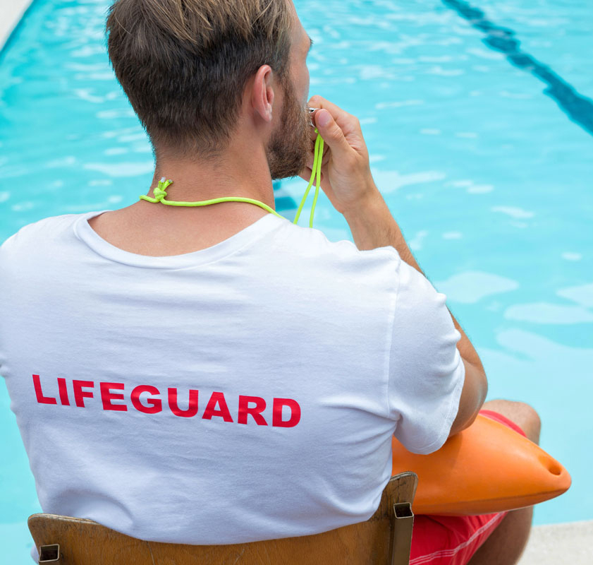 Swimming Pool Lifeguard